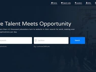 A Job Portal: Rojgarshine.com