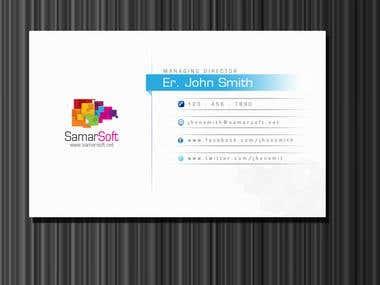 Samarsoft Business Card