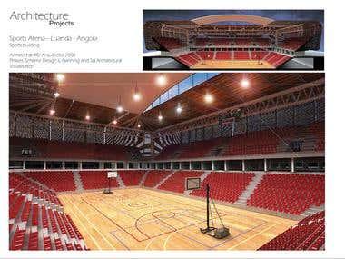 Sports Arena– Luanda - Angola