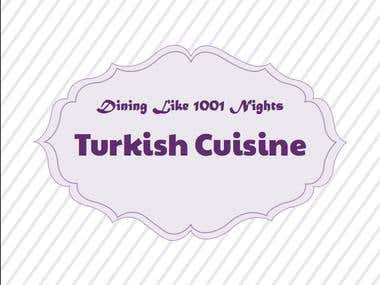 Turkish Cookbook