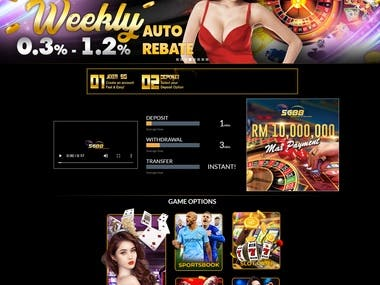 Online Casino | Slot Game | Lottery | Roulette Webssite