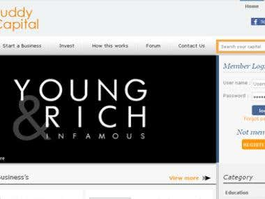 Crowd Funding Website