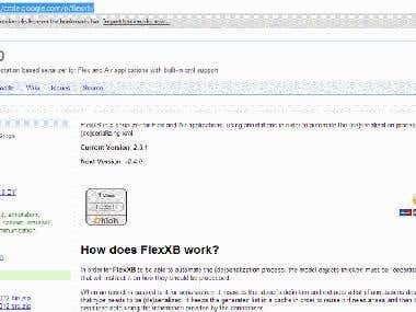FlexXB - xml serializer