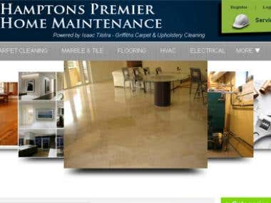 Cleaning Service Website-Custom CMS