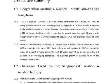Business Plan - Executive Summary