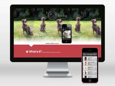 Eyedog web and app