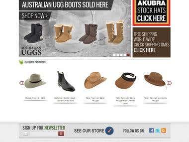 Australian Gear Magento Store