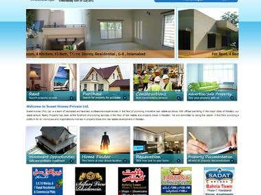 Sweet Homes, Properties Sale/Purchase/Rent Application
