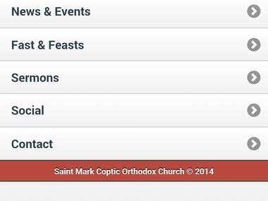 St Mark DC app