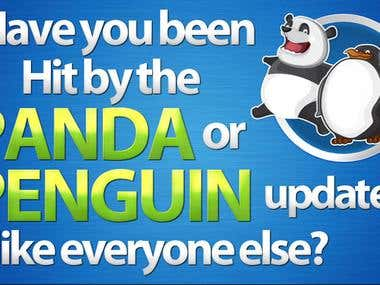 Have you been HIT by the PANDA or PENGUIN update like everyo