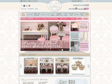 The Bella Cottage Magento Store