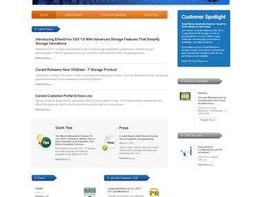 Micro-site design