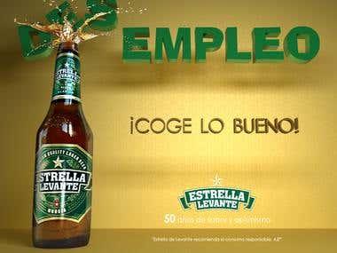 AD Campaign Ceveza Levante 50 years