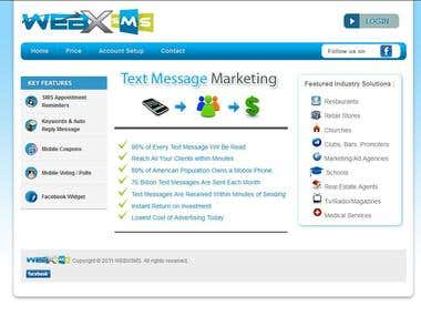 Web based SMS Application