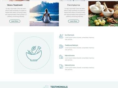 Ayurvedic website