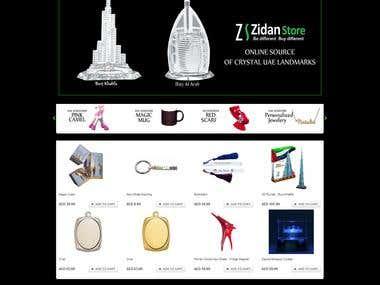 Magento E-commerece Site: Zidanstore.com