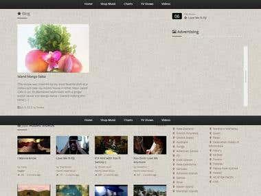 Islandbeats.com Video website