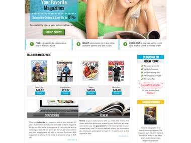 Magazine Multi Store