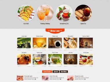 Lotte Web mockup