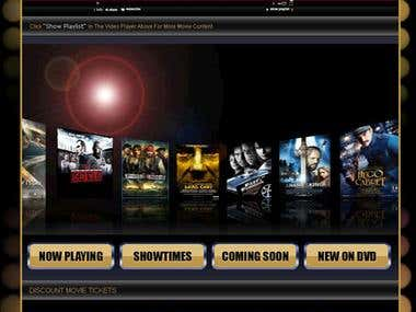 movie ticket sell core php USA client