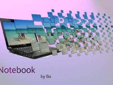 Laptop explosion de pantalla