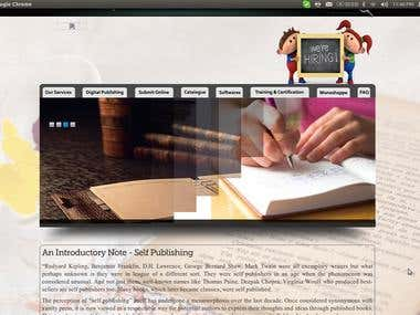 Book Publishing Site