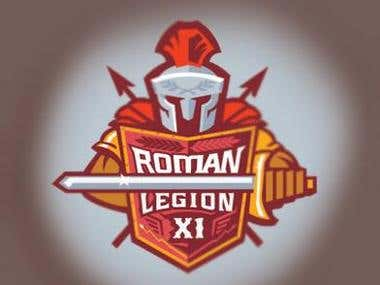 Roman Legion Game Logo