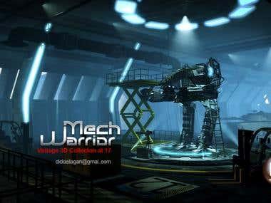 3D Artist Magazine - Mech Warrior Finalist