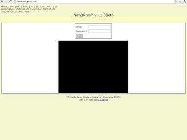NewsRoom (Editorial Information System ver 2)