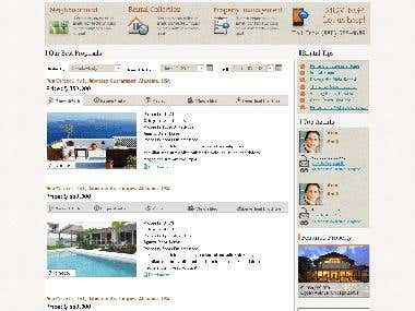 Incredible example how Joomla Real Estate website can look