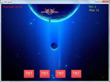 SpaceShip Killer Game