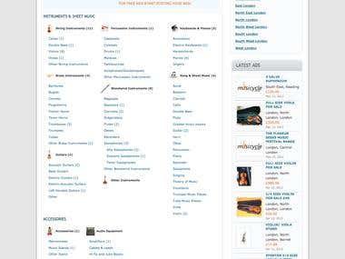 Classifieds E-commerce Site