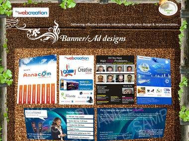 Banner & flyer