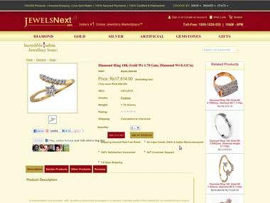 Multi Vendor Jewellery E-Commerce Platform