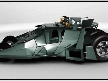 Batman car...