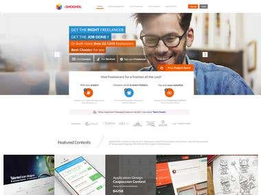 eSHOGHOL Freelancer Web Design