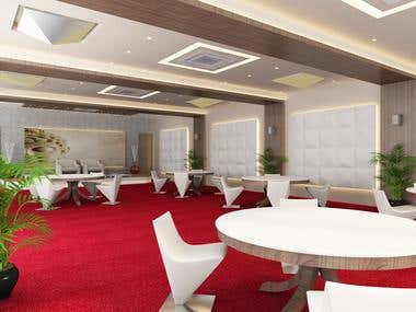 club house / banquet Design