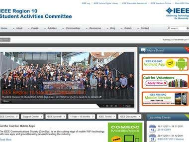 IEEE Region 10 Students Website