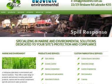 JJ Industries website