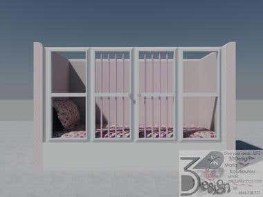 Bed special order-Design-for child with spesial needs