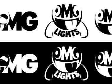 OMG Lights Logo