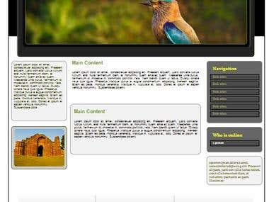 my some website template