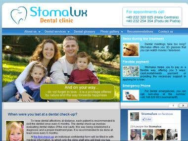Stomalux - Network of modern dental clinics