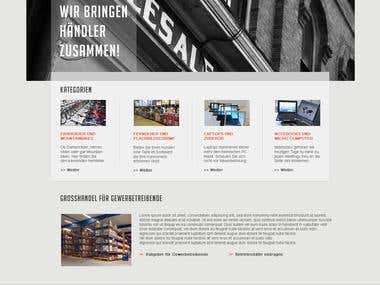 E-commers website