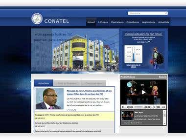 CONATEL website