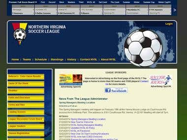 CakePHP Sports Site