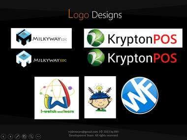 Logo Design, Posters, Vector, UI Design