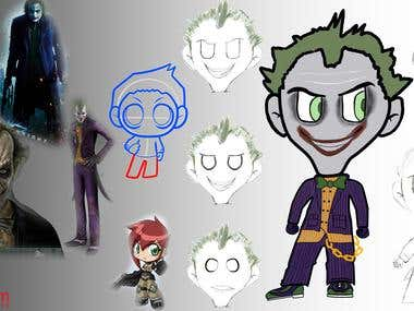 Joker Concept Character