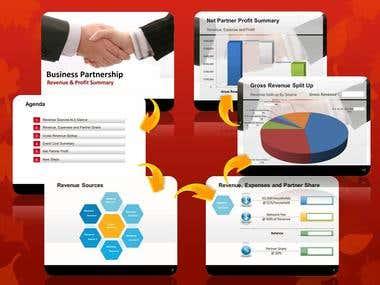 Presentation Design using Excel Templates