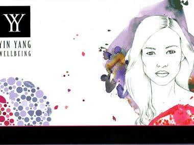 Brochure for Yin Yang Skincare